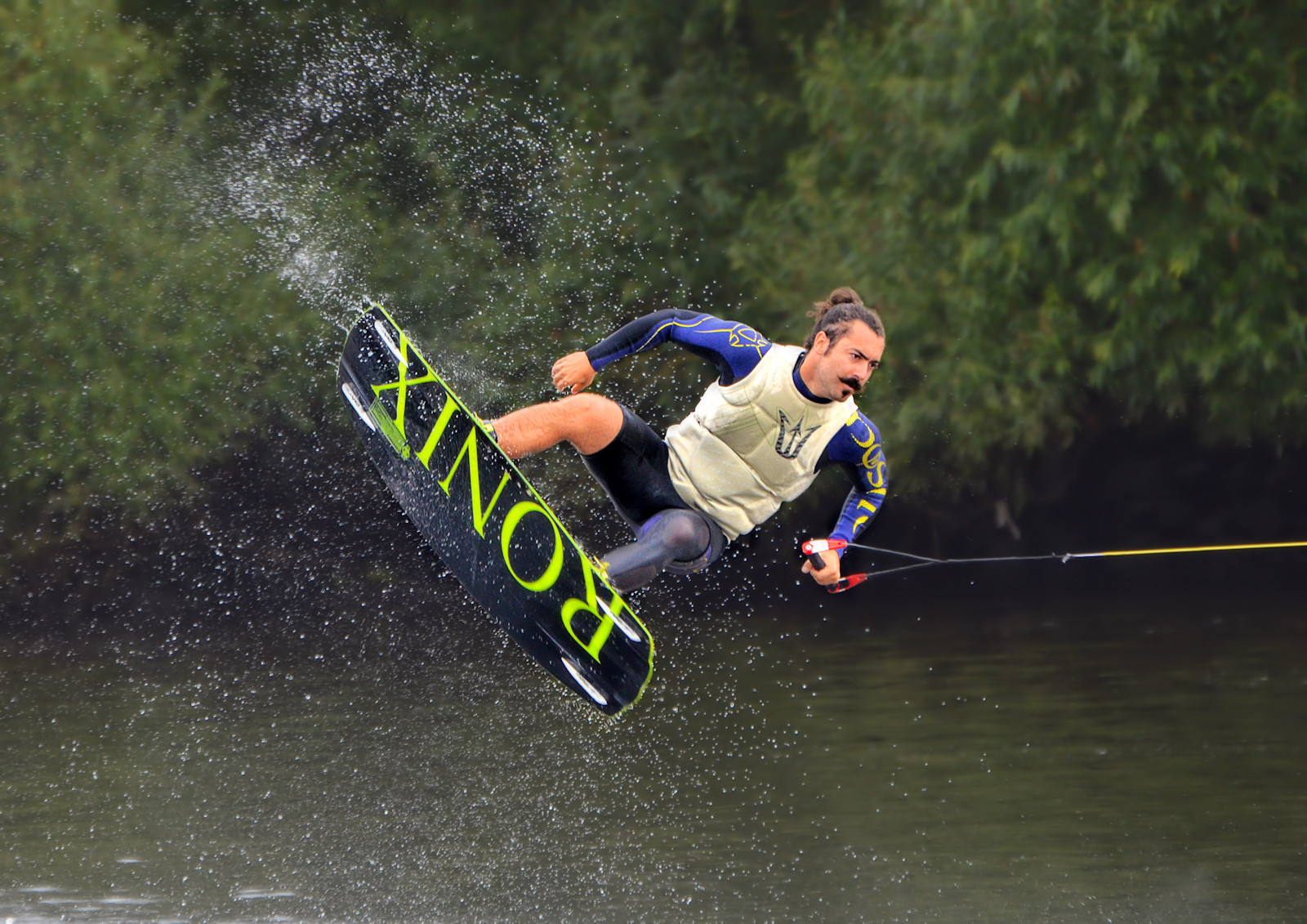 COLOUR - Wakeboarder by Fiona Beattie (11 marks)