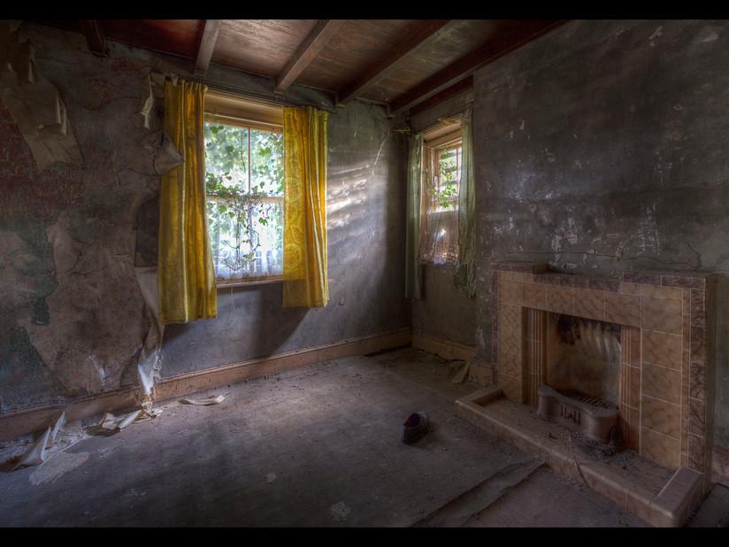 COLOUR - Sunlit Corner by Ruth Nicholls (17 marks)