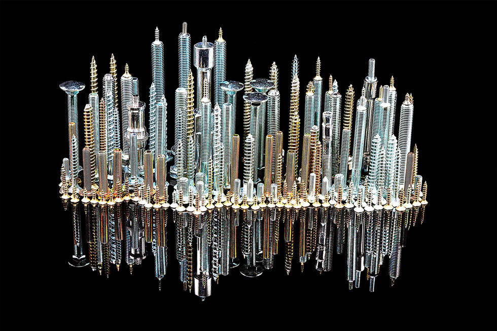 COLOUR - Metal Skyline by T Kelly (13 marks)