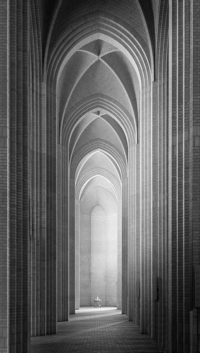 MONO - Grundtvigs Church by Hugh Rooney (12 marks)