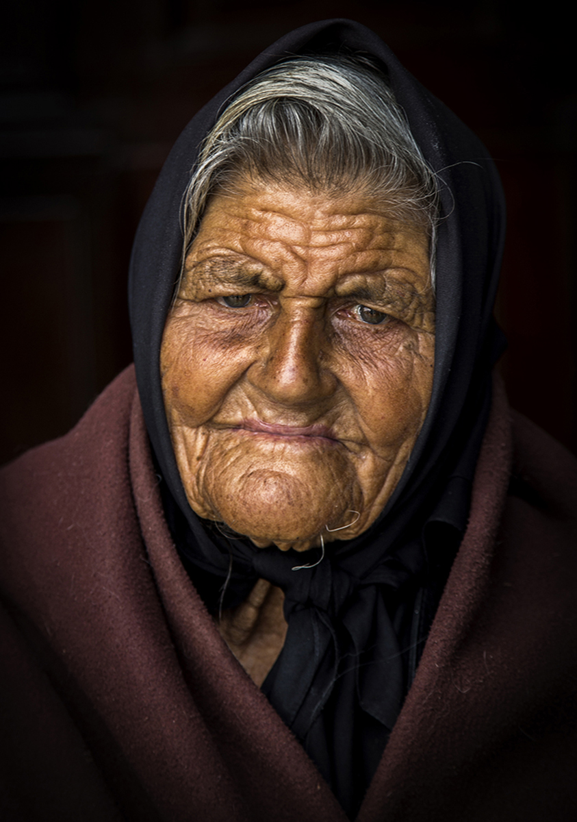 Portuguese Begger Woman