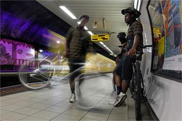 COLOUR - James Street Underground by Brian Mason (7.5 marks)