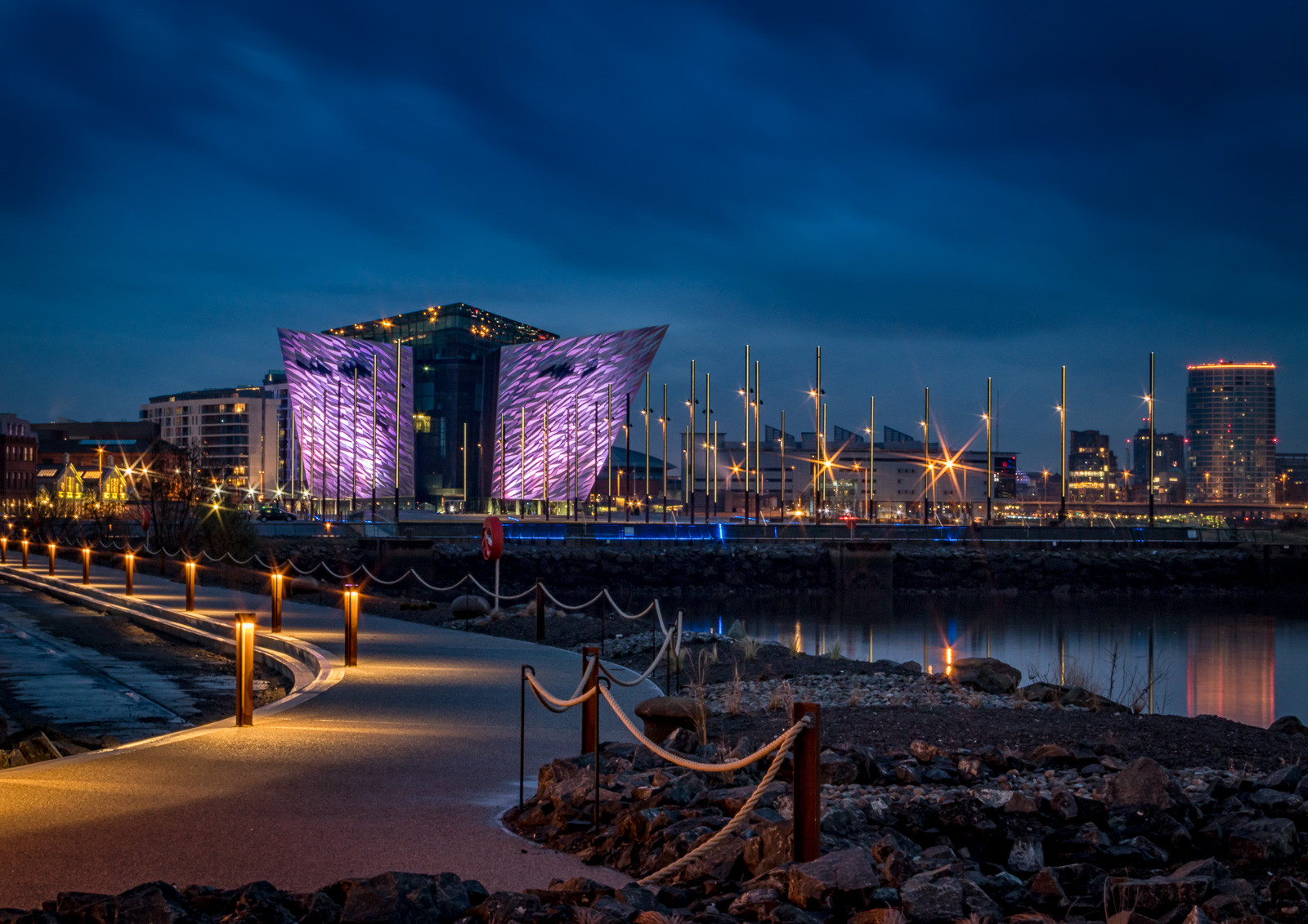 COLOUR - Titanic Quarter by Stephen McComb (10 marks)