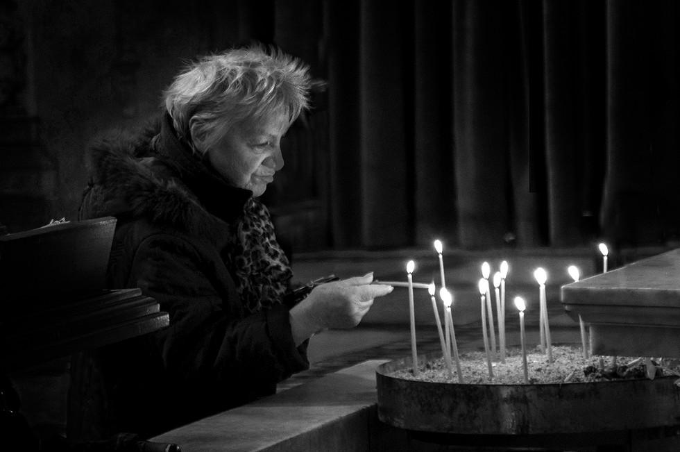 MONO - Light a Penny Candle - Maeve Binchy by Kieran D Murray (8 marks)