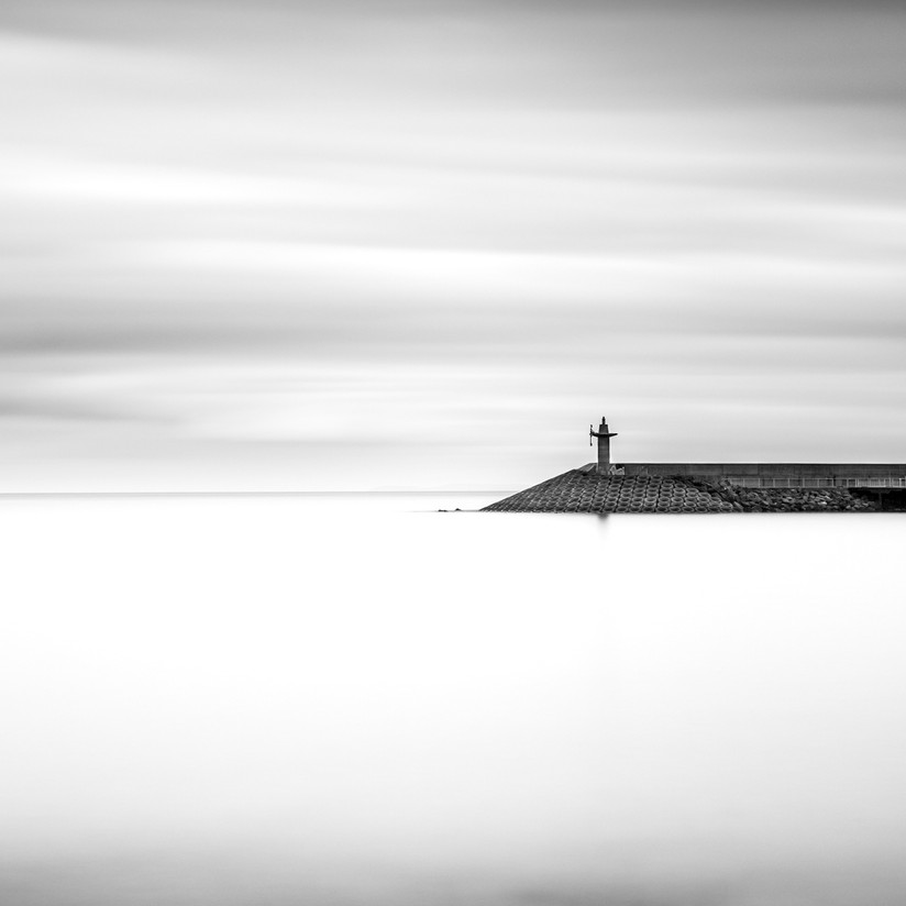 MONO - Bangor Pier by Hugh Rooney (11 marks)