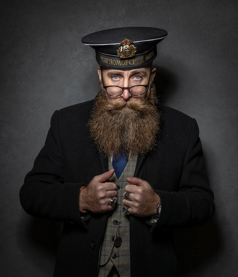 COLOUR - Officer and Gentleman by Conor McCorry (12 marks)
