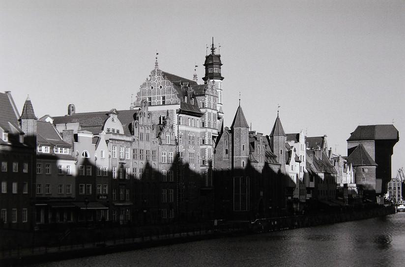 MONO - Riverfront Skylines, Gdansk, Poland by Alec Barclay (9 marks)