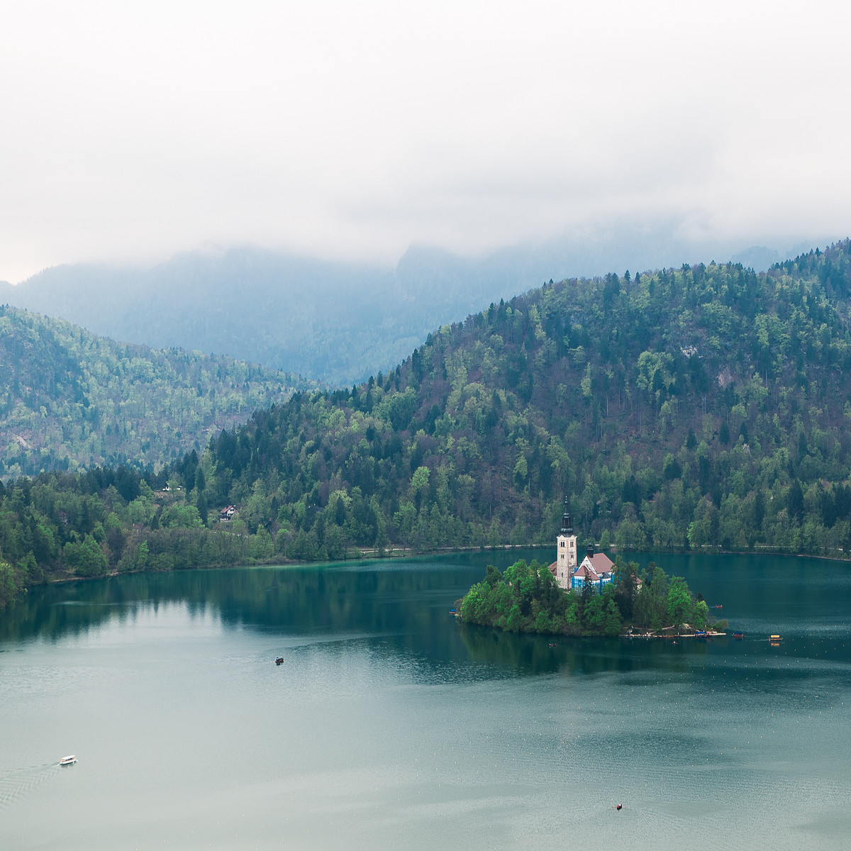 COLOUR - Lake Bled by Vita Blauberga (10 marks)