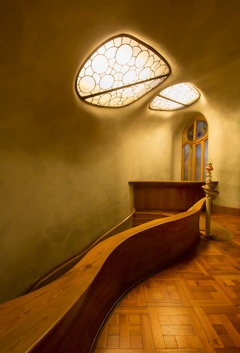PDI - Gaudi Interior by Louise Borbely (9 marks)