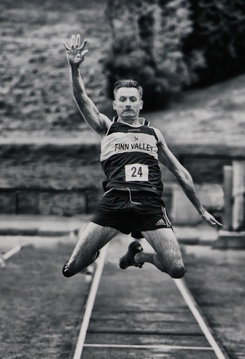"""The Long Jump"" by Joe Beattie"