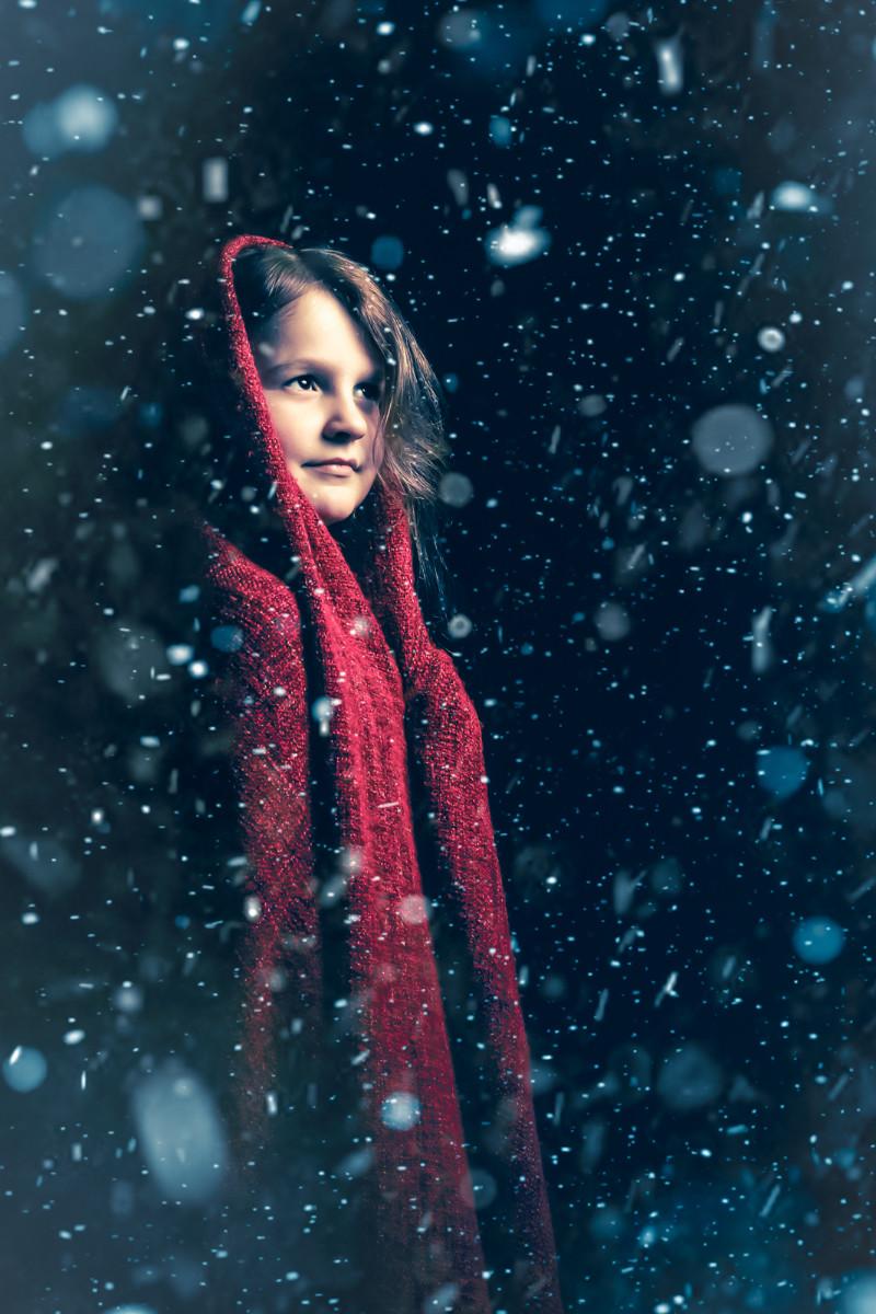 COLOUR - Little Red Riding Hood by Mariusz Pietruszczak (10 marks)