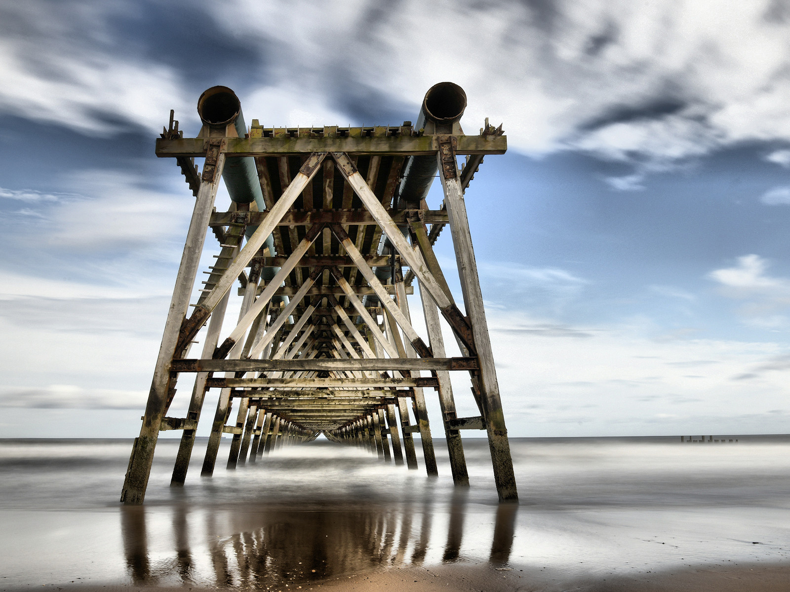 PDI - Steetley Pier by Joe Beattie (10 marks)