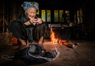 COLOUR - Longji Grandmother by Neal Ritchie (10 marks)