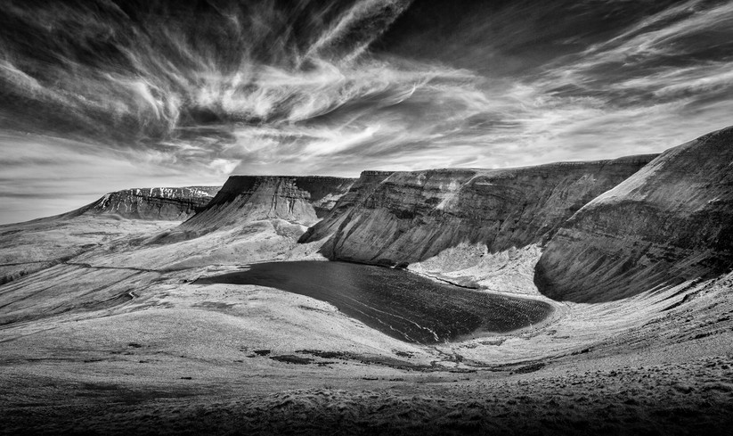 PDI - Brecon Beacons by Mike Cullis (17 marks)