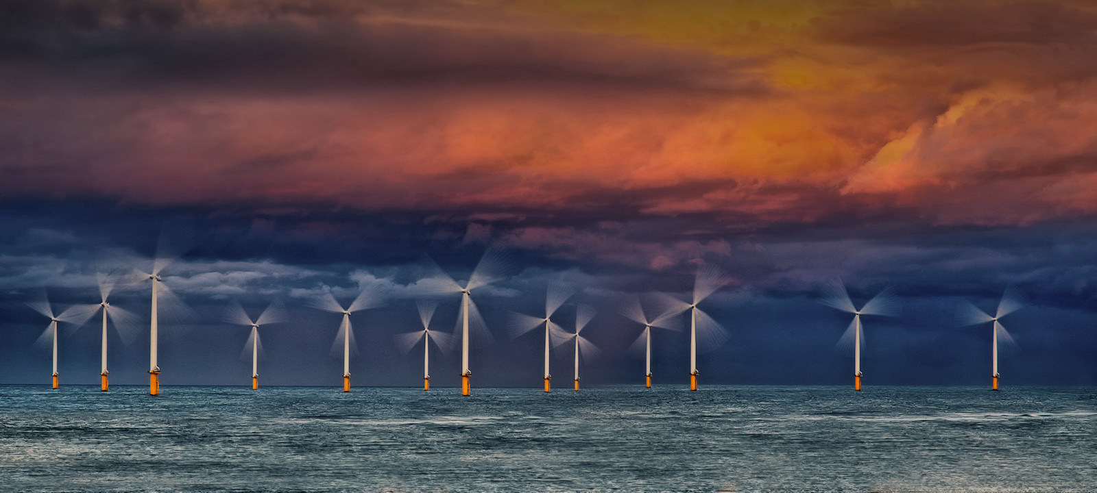 COLOUR - Storm Power by Joe Beattie (12 marks)