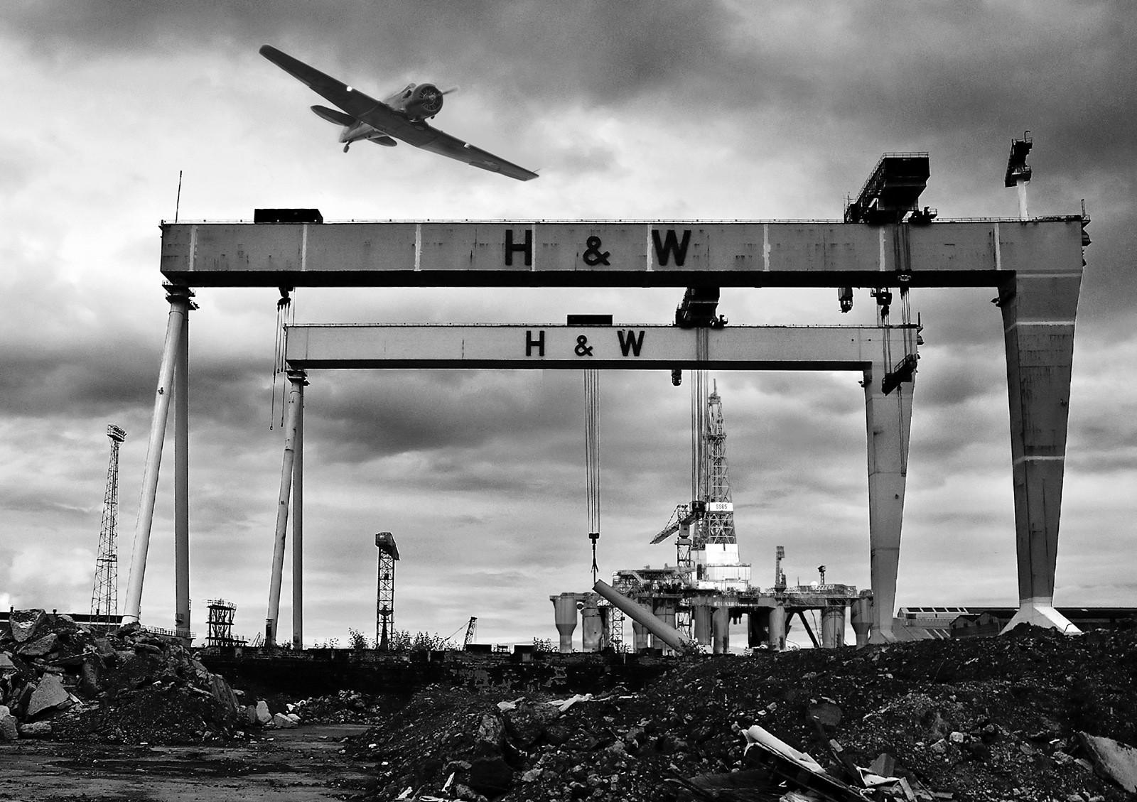 MONO - Shipyard Airshow by Danny McCaughan (9 marks)