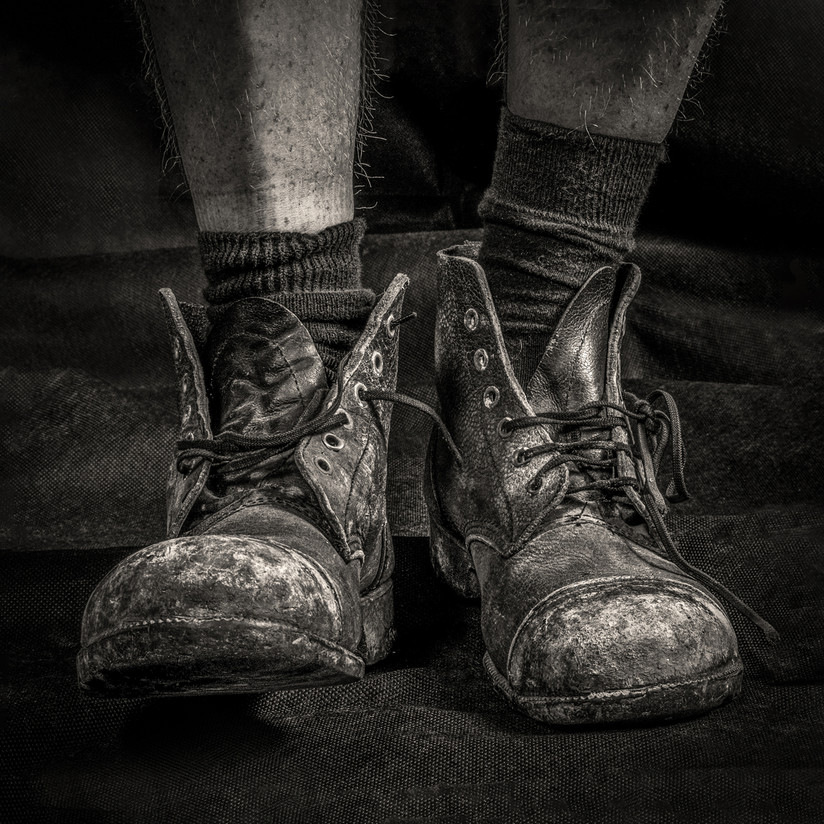 MONO - These Boots are Made for Walkin - Nancy Sinatra by Julian Maitland (13 marks)