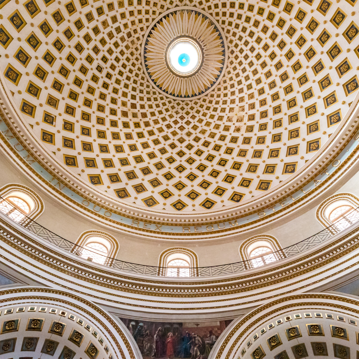COLOUR - Mosta Rotunda by Nigel Bell (7 marks)