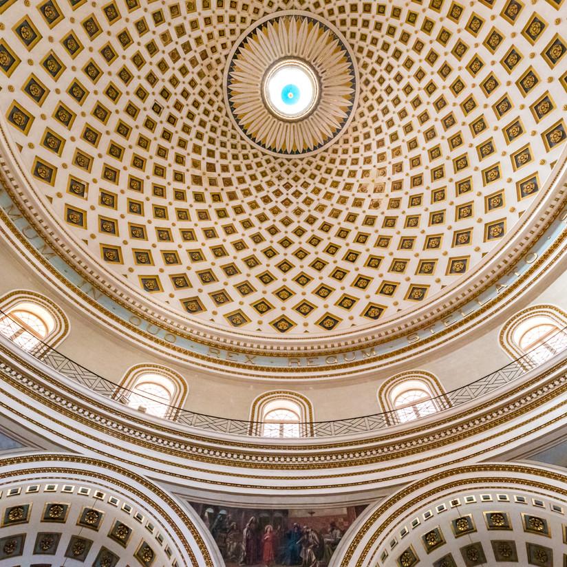 COLOUR - Mosta Rotunda by Nigel Bell (7 marks)