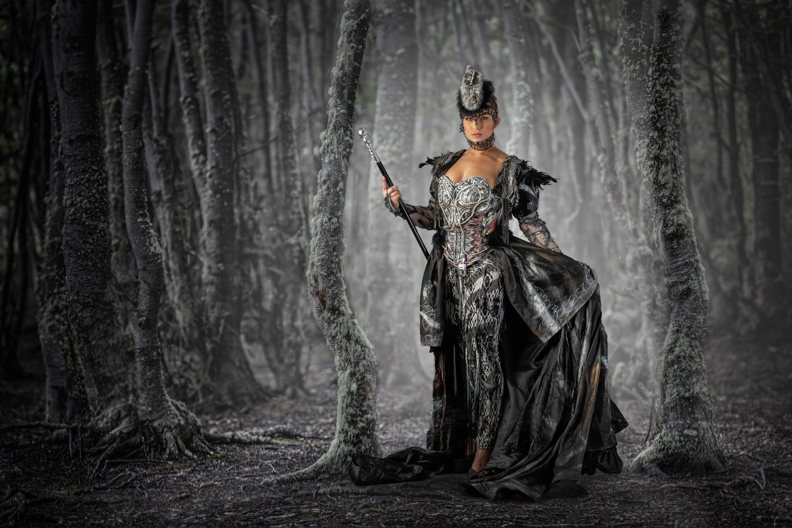 PDI - Enchantress of the Forest by Bob Given (19 marks)