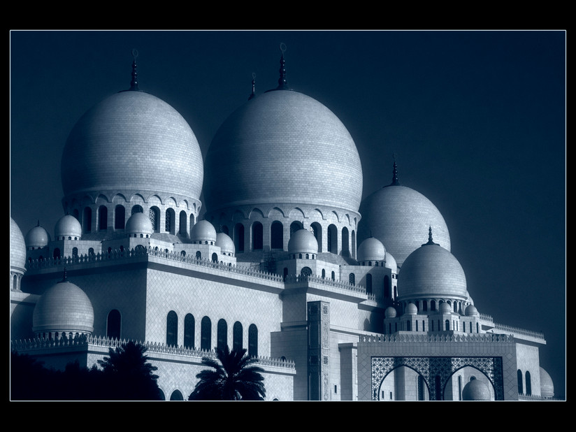 PDI - Midnight Mosque by Brian Hennessy (10 marks)