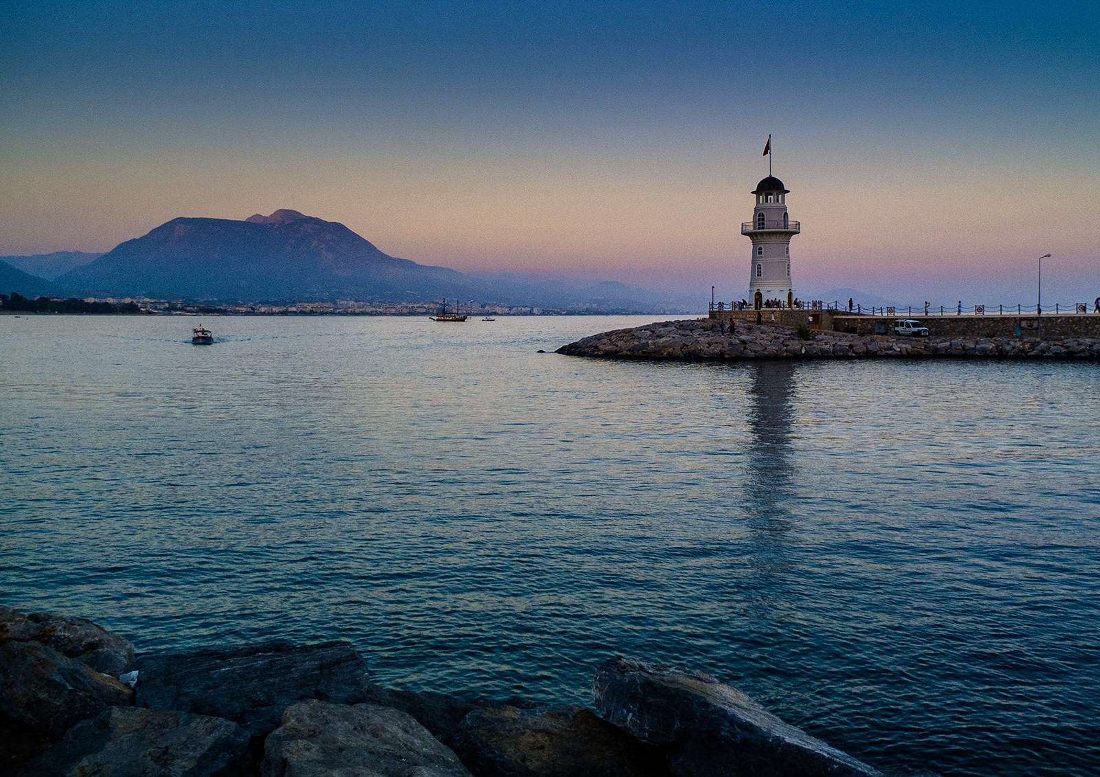 COLOUR - Lighthouse - James Taylor by Paul McCanny (9 marks)