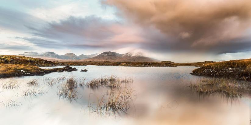 COLOUR - Dusk in Connemara by Pauline O'Flaherty (13 marks)