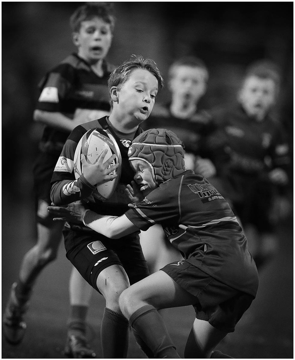 MONO - Rugby Kids by Hugh Russell (13 marks)