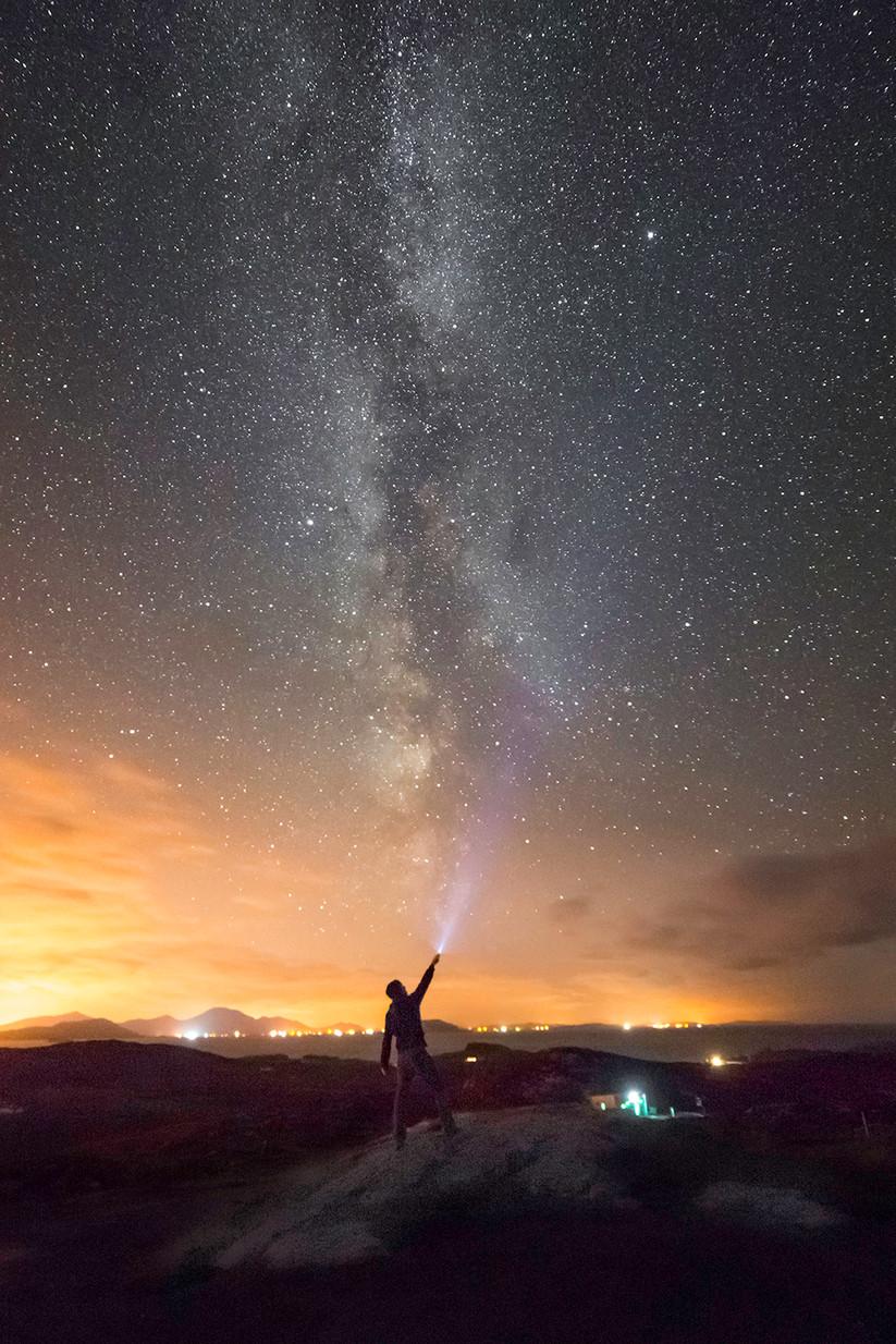 PDI - Milky Way Selfie by Mark Anderson (11 marks)