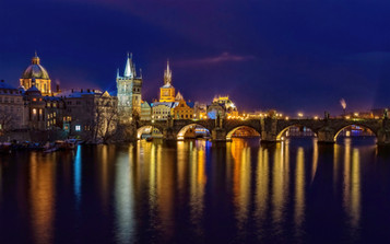 COLOUR - Charles Bridge by Anthony Crosbie (9 marks)