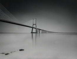 """Vasco Da Gamma Bridge"" by Hugh Rooney"