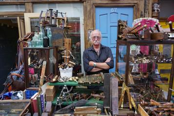 COLOUR - Portobello Trader by John Gervin (8 marks)