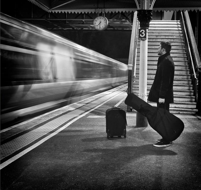 MONO - Homeward Bound - Simon and Garfunkel by Martin Courtney AIPF (9 marks)