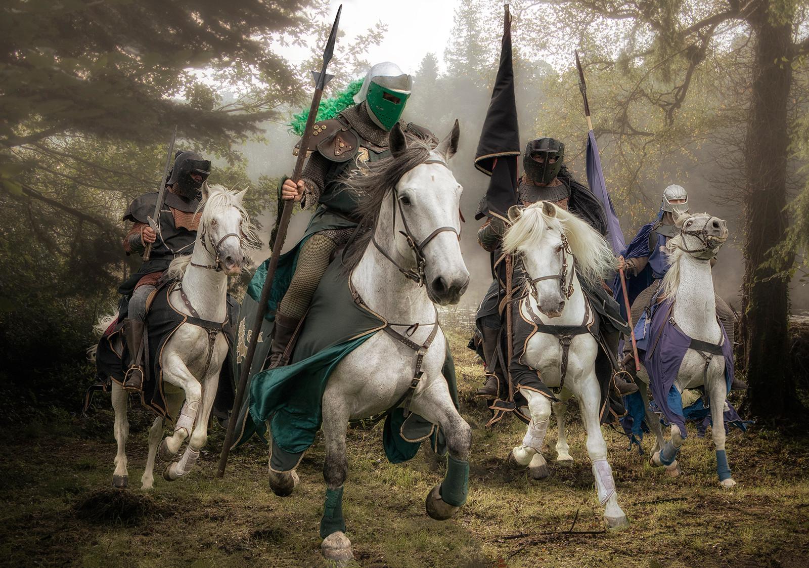 COLOUR - The Four Horsemen by Alan Field (10 marks)