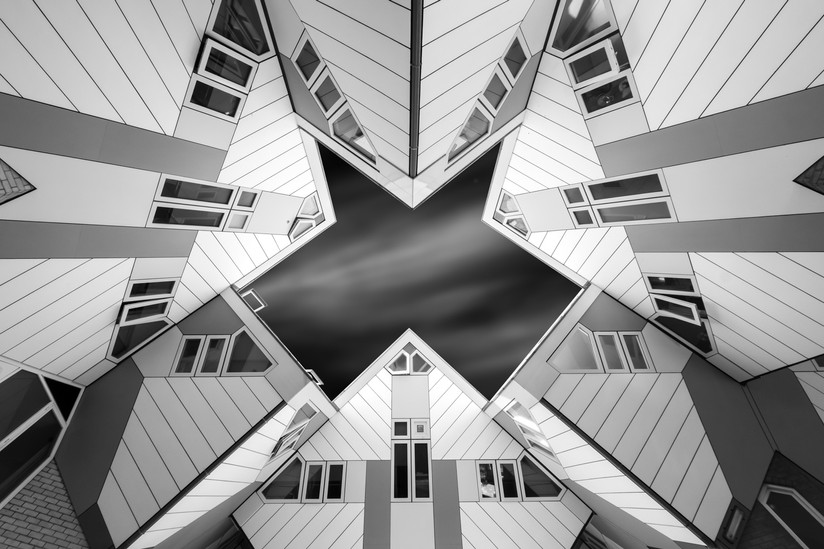 MONO - The Cube Houses by Hugh Rooney (15 marks)