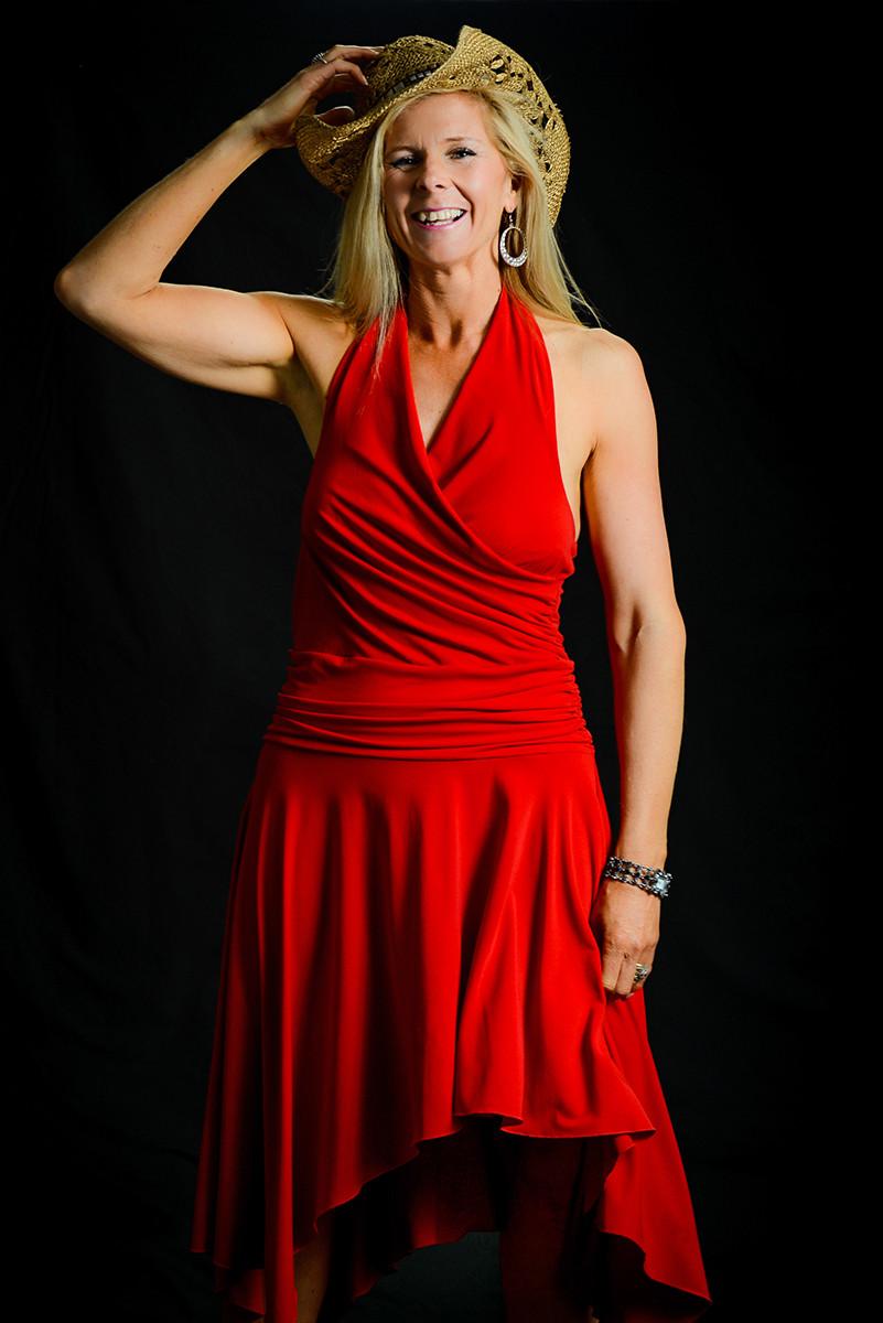 PDI - Lady in Red - Chris De Burgh by Anita Kirkpatrick (9 marks)