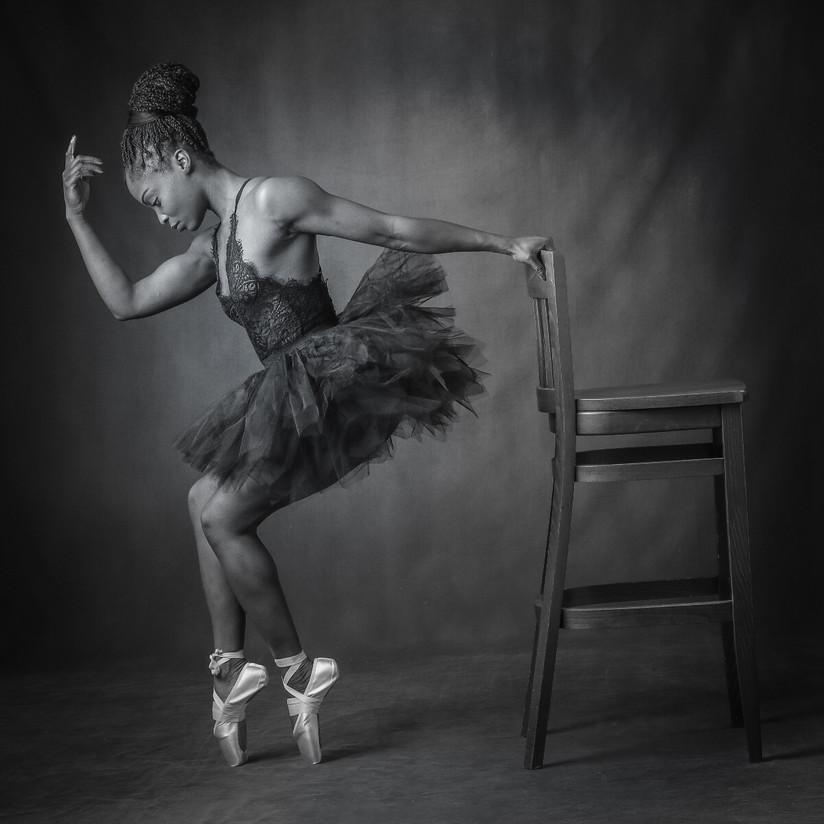 MONO - Black Ballerina - Ariel Pink by Frances Price (13 marks)