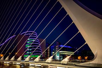 PDI - Dublin Dusk by Raymond Hughes (9 marks)