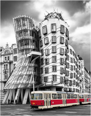 """Dancing House Prague"" by Stephen McWilliams (17 marks)"
