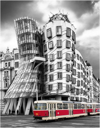 """""""Dancing House Prague"""" by Stephen McWilliams (17 marks)"""