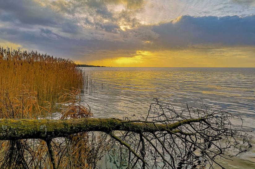 PDI - Lough Neagh Sunset by Iris Rainey (9 marks)