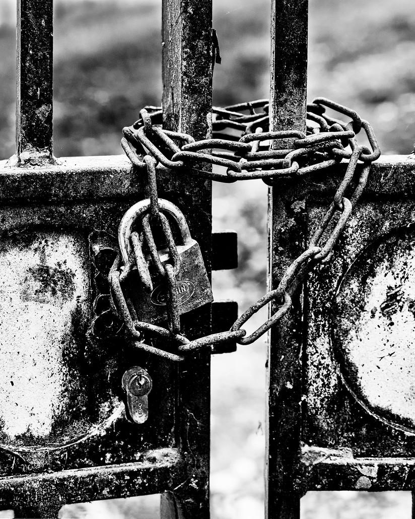 MONO - Locked by Sharon Gilroy (9 marks)