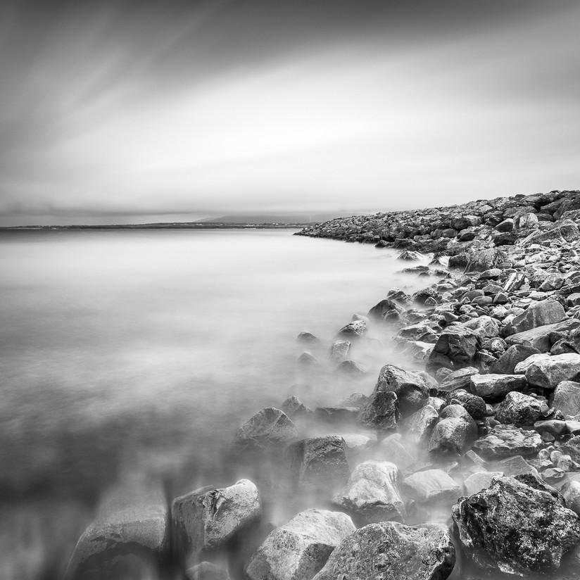 MONO - Harbour Wall by Wayne Hazlett (9 marks)