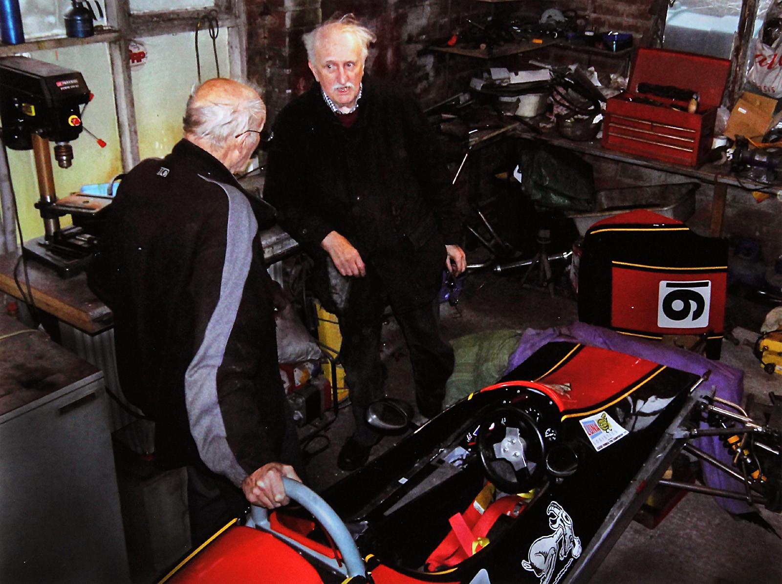 COLOUR - Willy Moor's Garage by Lawson Piggott (8 marks)