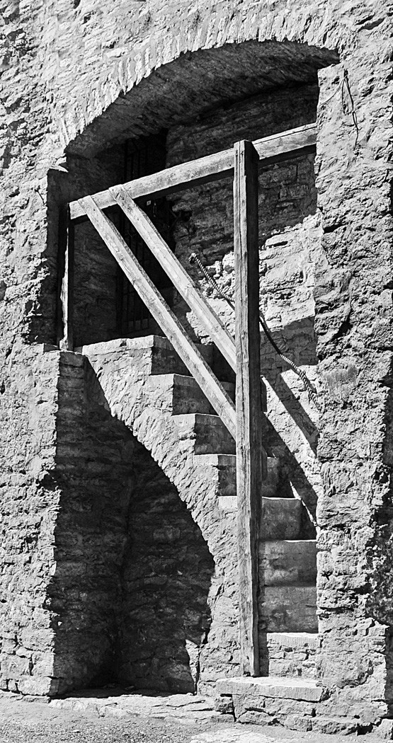 MONO - Castle Stairs by Paul Miller (6 marks)