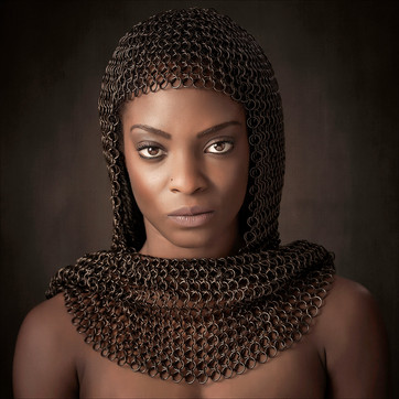 """""""Chainmail Headshawl"""" by Ross McKelvey (19 marks)"""