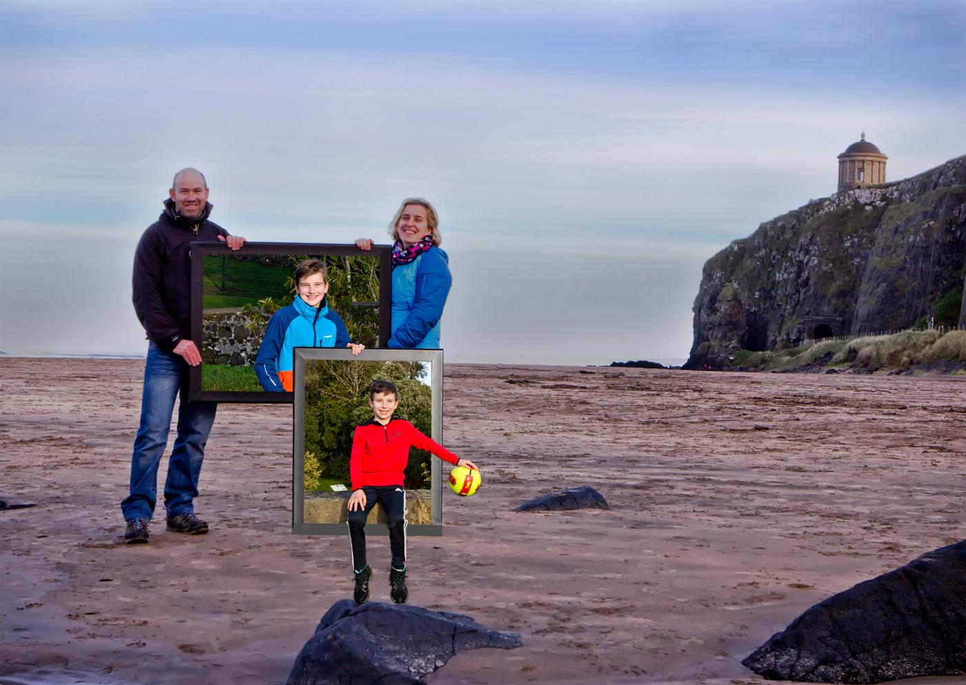 COLOUR - Daley Family by Graham Cubitt (8 marks)
