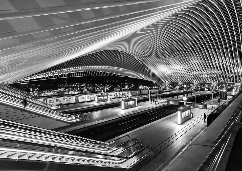 MONO - Liege Station by Steve Lathe (13 marks)