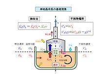 単結晶成長のための基礎科学・技術