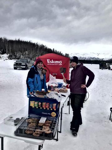 We had some snacks!